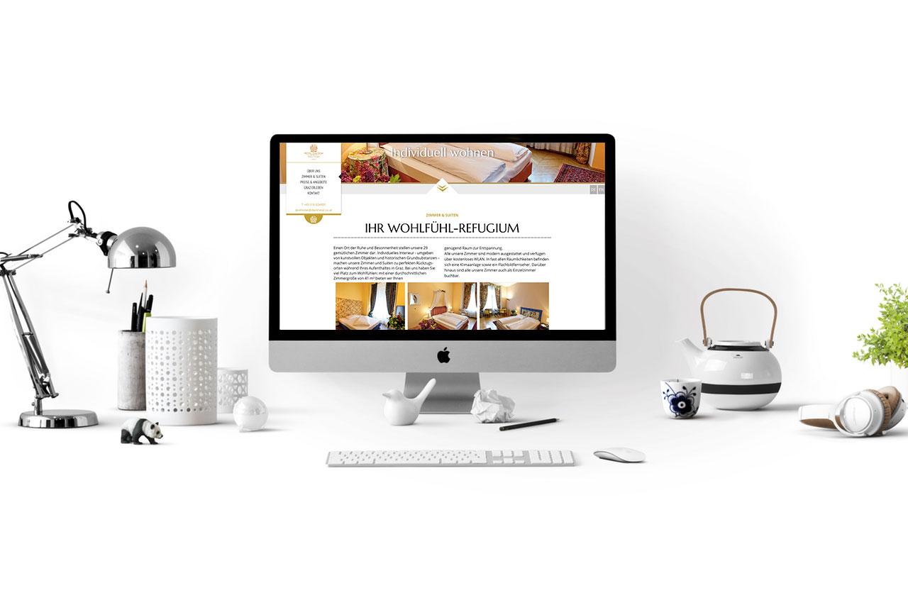Bild: Website & Content Hotel zum Dom