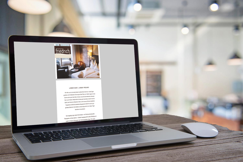 Portfolioreferenz KR Text & Communications – mindpark Werbeagentur – Webtext, Newsletter, Mailings